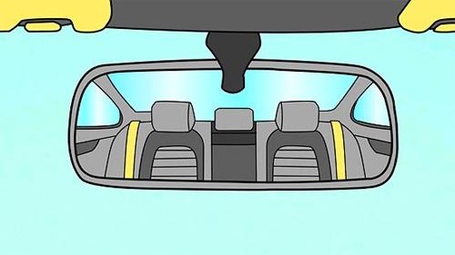 Chỉnh gương ôtô đúng cách