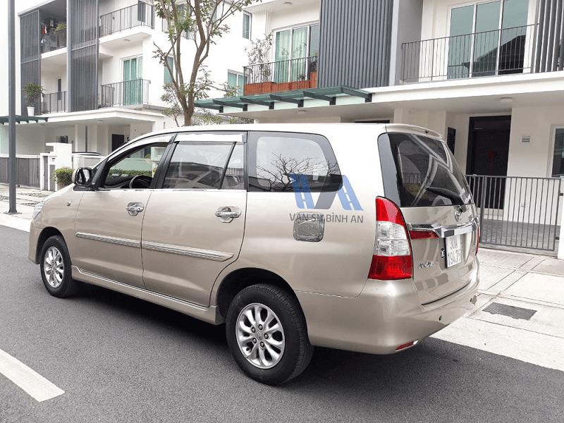 Cho thuê xe 7 chỗ Toyota Innova Tết 2019