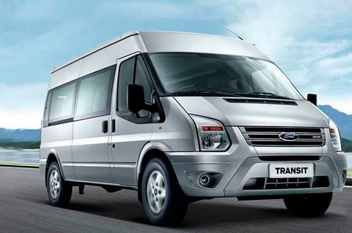 thuê xe 16 chỗ Ford Transit đi Quảng Ninh