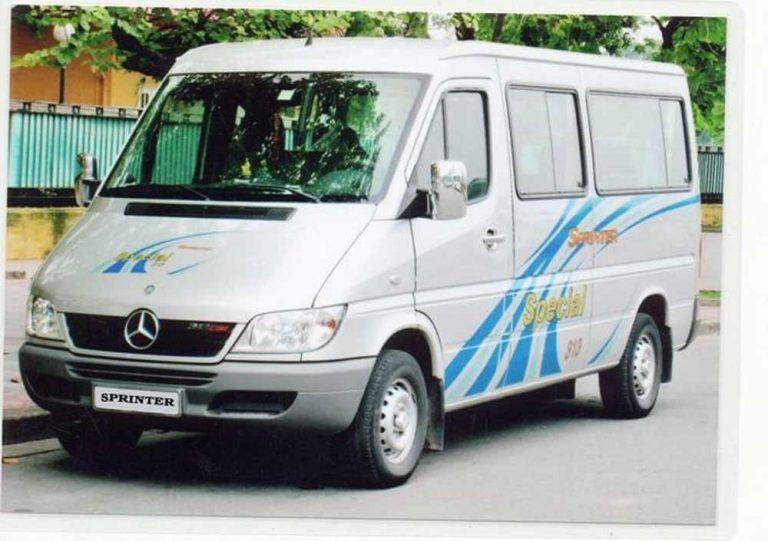 Thuê xe 16 chỗ tự lái đi Phủ Dầy