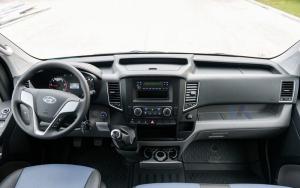 Nội thất xe Hyundai Solati 2019
