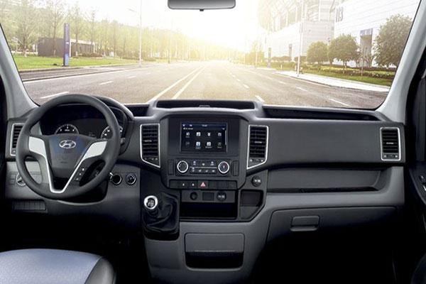Nội thất xe 16 chỗ Hyundai Solati 2019 tại Vạn An