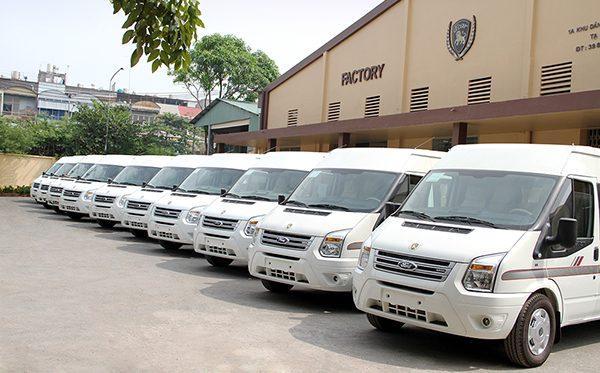 Cho thuê xe 16 chỗ giá rẻ nhất tại Hà Nội