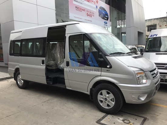 thuê xe 16 chỗ Ford Transit đi Mộc Châu