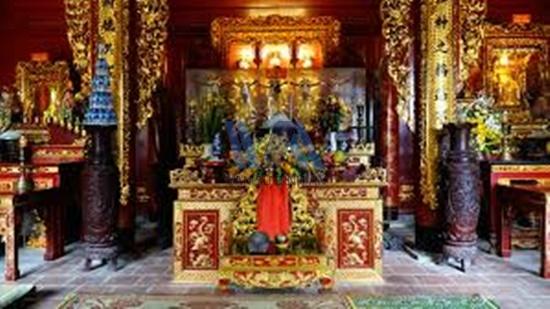 thuê xe đi đền ông Hoàng Mười
