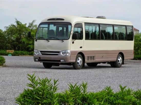 Cho thuê xe 30 chỗ đi du lịch biển tại Hà Nội