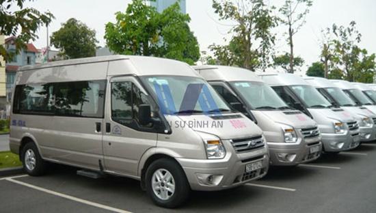 thuê xe 16 chỗ đi du lịch cuối tuần