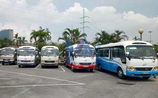 Cho thuê xe 29 chỗ đưa đón học sinh trên địa bàn Hà Nội