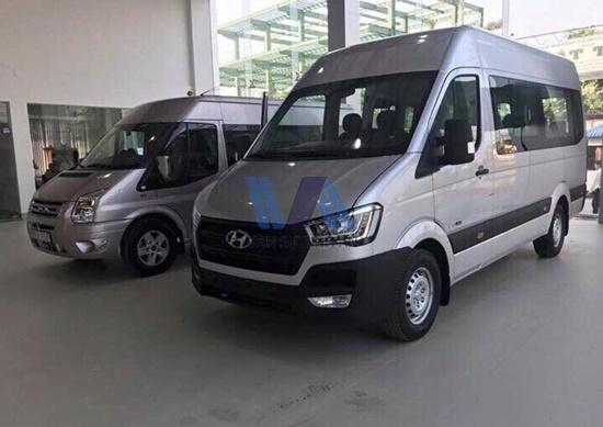 Thuê xe 16 chỗ Hyundai Solati