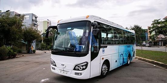 Thuê xe du lịch 29 chỗ Isuzu Samco