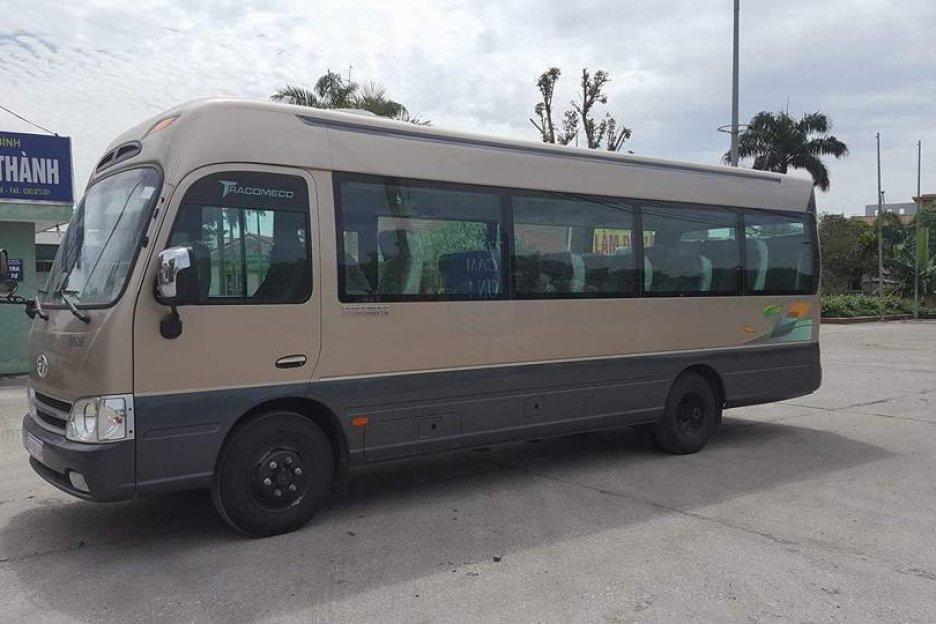 thue xe 29 cho di Zen Resort 2