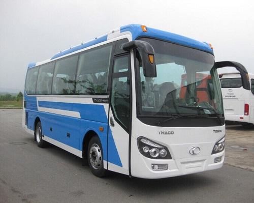 thue xe 29 cho di thao vien Resort