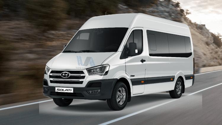 Thuê xe du lịch 16 chỗ Hyundai Solati