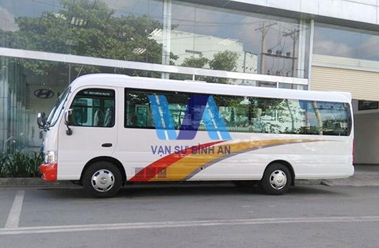 Cho thuê xe 29 chỗ đi Hải Phòng – Giá rẻ nhất tại Hà Nội