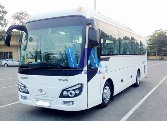 Cho thuê xe du lịch 29 chỗ đi Hải Phòng giá rẻ tại Hà Nội