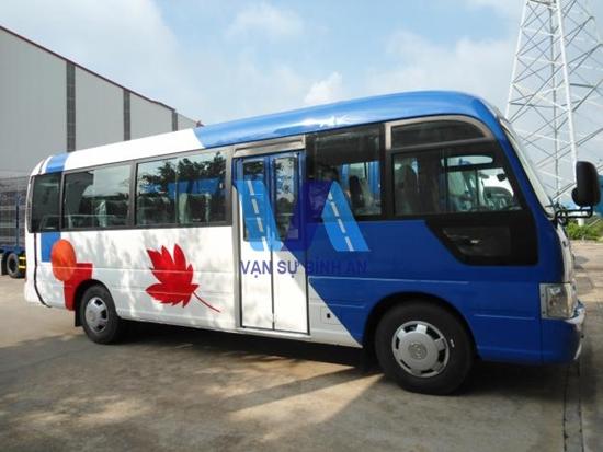Công ty cho thuê xe 35 chỗ tại Hải Phòng
