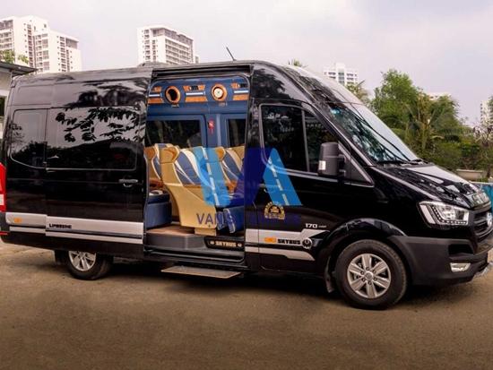 Cho thuê thuê xe 16 chỗ limousine giá rẻ tại Hà Nội