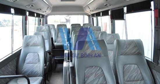 thuê xe du lịch Hyundai County 29chỗ giá rẻtại Hà Nội